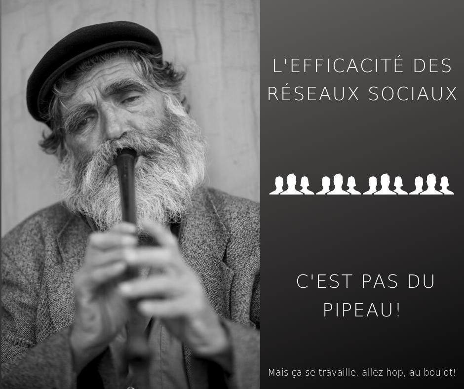 EFFICACITE DES RESEAUX SOCIAUX